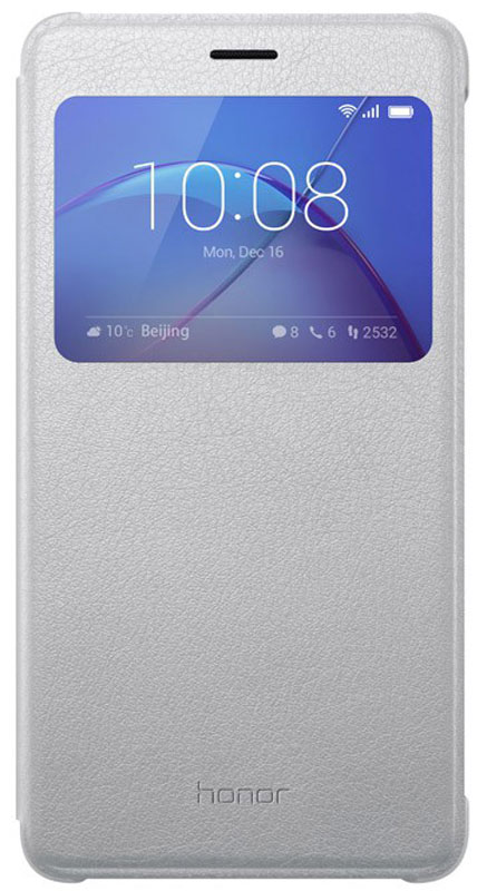 Huawei Smart Cover чехол для Honor 6X, Silver - Чехлы