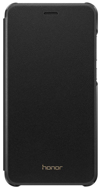 Huawei Cover чехол для Honor 8 Lite, Black51991853Чехол-книжка Huawei Cover из искусственной кожи создан специально для смартфона Honor 8 Lite. Он идеально повторяет контуры устройства и обеспечивает ему надежную защиту при падениях. Чехол приятен на ощупь, не скользит в руках и не утяжеляет конструкцию: с ним смартфон сохранит внешний вид и будет защищен от сколов и царапин.