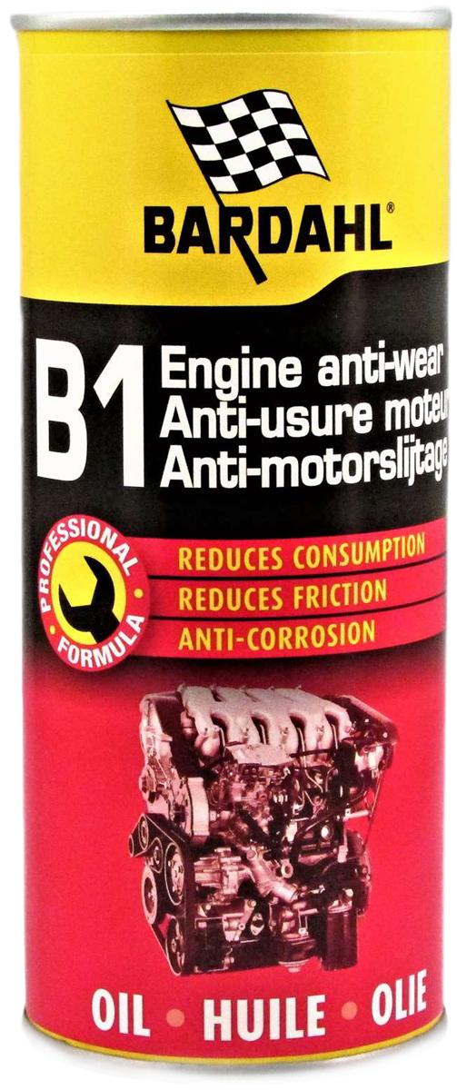 Присадка профилактическая Bardahl B1 Oil Supplement, в моторное масло, 400 мл. 12051205Bardahl B1 является уникальным фирменным концентратом полярных органических соединений и веществ, противостоящих экстремальным давлениям. Эти химикаты образуют молекулярную пленку, прочно связанную с поверхностью металла, которая не выгорает и не соскабливается даже при высоких давлениях и температурах в современных двигателях. Пленка остается на месте и не стекает после остановки двигателя. Такая защита выполняет несколько функций:- уменьшает износ путем сглаживания микроскопических пиков и впадин на поверхности металла, которые вызывают трение и, следовательно, снижается выделяемое тепло;- очищает отложения, разрывая и смывая лак и углерод, помогая затем предотвратить дальнейшее образование отложений и коррозию;- улучшает смазку подшипников, кулачков и поршней, увеличивая их срок службы;- освобождает залипшие клапаны, кольца и гидротолкатели;- облегчает запуск двигателя, увеличивает эффективность и производительность, эксплуатационные расходы сокращаются;- увеличивается ресурс двигателя, а затраты на техническое обслуживание снижаются.