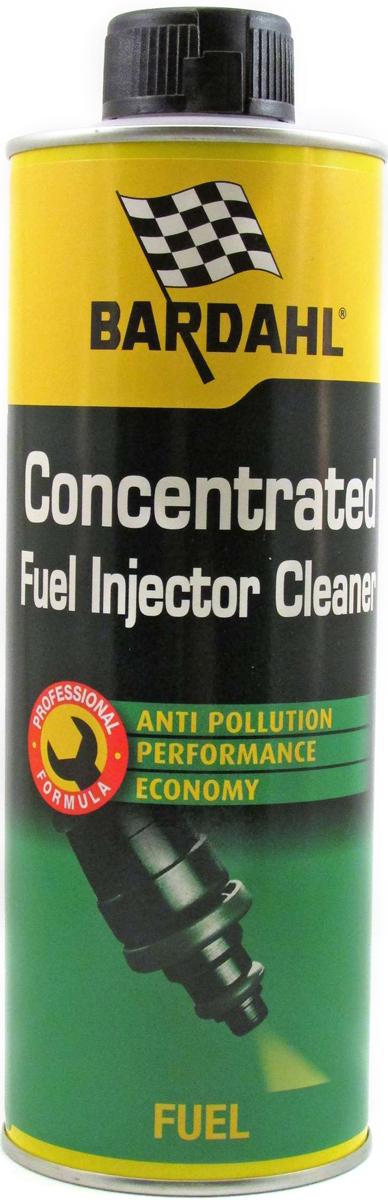 Присадка-очиститель топливная Bardahl Concentrated Fuel Injector Cleaner, для бензиновых двигателей, 500 мл12105Очиститель инжектора-новая 6-функциональная формула Bardahl Fuel Injector Cleaner специально разработана для решения проблем (провалы в ускорении, нестабильный холостой ход, затрудненный холодный старт, повышенный расход топлива, загрязнение), связанных с засорением топливной системы на всех типах старых и новых двигателей.
