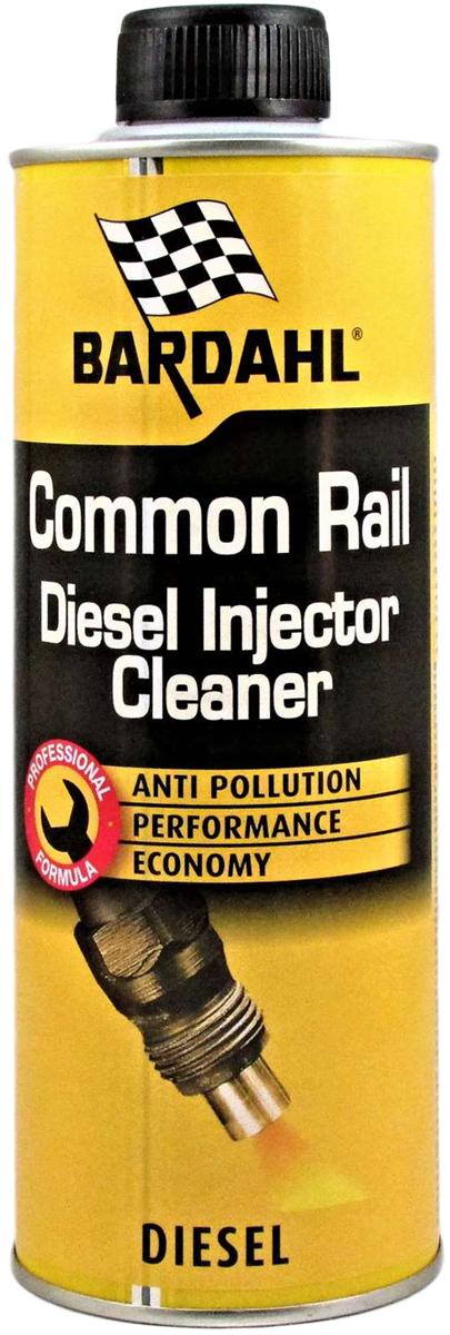 Присадка-очиститель топливная Bardahl Common Rail Diesel Injector Cleaner, для дизельных двигателей, 500 мл. 13205 original genuine common rail injector repair kits f00rj03484 for 0445120123 4937065