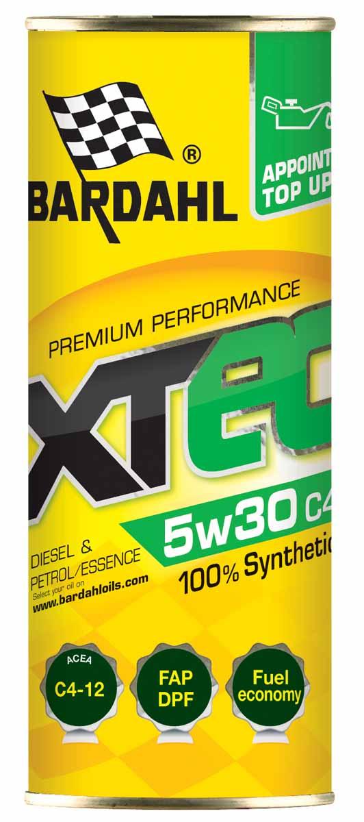 Масло моторное Bardahl XTEC, синтетическое, 5W-30, 400 мл. 3615036150Специальное синтетическое масло премиум класса, разработано для бензиновых и дизельных двигателей последнего поколения, оснащенных системами очисти выхлопных газов, которые требуют использования масла LOW-SAPS (с низким содержанием золы, фосфора и серы). Благодаря уникальной формуле, продукт имеет высокую вязкость HTHS и обеспечивает экономию топлива. Этот продукт обеспечивает высочайшую производительность, отличные противоизносные свойства, высокую текучесть при низких температурах и сохраняет стабильную вязкость при ее росте. Идеально для спортивного стиля вождения, благодаря высокой концентрации Polar Plus - Fullerene C60, значительно увеличивает производительность двигателя, защищая его от износа и коррозии.ACEA C3-A3-B4 API SN-CF OEM MB 229.51 / VW 502.00-505.00, / BMW Longlife 04 / GM dexos 2