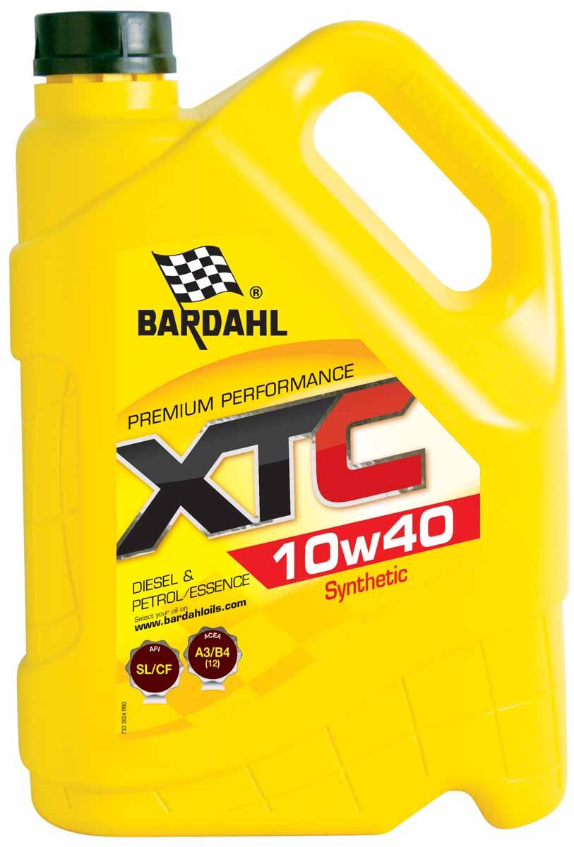 """Масло моторное Bardahl """"XTС"""", полусинтетическое, 10W-40, 5 л"""