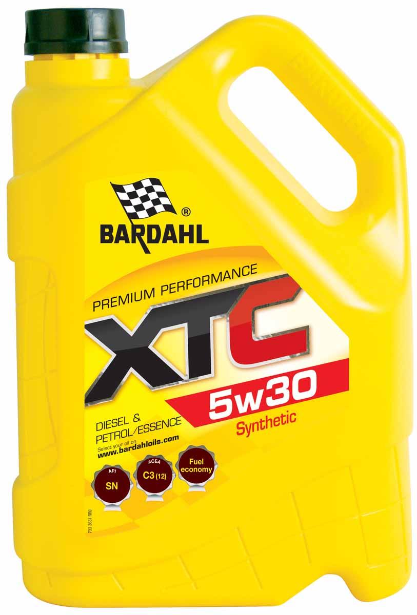 Масло моторное Bardahl XTС, НС-синтетическое, 5W-30, 5 л36313Высококачественное полусинтетическое моторное масло для бензиновых и дизельных двигателей (начиная с 2000 года или более поздних). Подходит для двигателей с турбонаддувом, мультиклапанные и с прямым впрыском. Bardahl XTC 5W-30 можно использовать круглый год, и в самых сложных условиях. Подходит для автомобилей, оснащенных каталитическим нейтрализатором. ACEA A3/B4 API SN/CF OEM VW 502.00/505.00,MB 229.3/226.5, GM LL B-25, Porsche A40, FIAT 9.55535-M2,PSA B71 2296, RN0700/RN0710