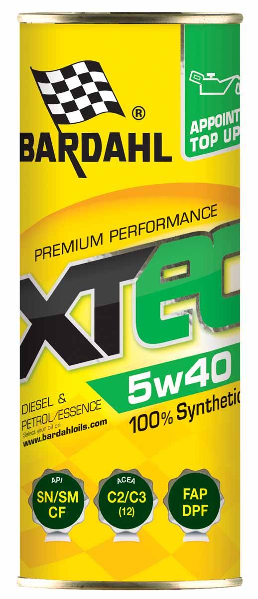 Масло моторное Bardahl XTEC, синтетическое, 5W-40, 400 мл36340Формула продукта содержит полностью синтетические компоненты, которые позволяют добиться отличной устойчивости к термической деградации и сохраняют стабильность масляной пленки даже в самых тяжелых условиях эксплуатации. Это позволяет продлить интервал замены масла до максимального, разрешенного производителем. Уникальные свойства масла позволяют эффективно защищать двигатель сразу после момента запуска, даже при низкой температуре, значительно повышают энергетическую эффективность. XTC C60 5W-40 с высоким индексом вязкости HTHS помогает значительно экономить топливо. Благодаря эффективности формулы Bardahl Polar Plus - Fullerene C60, XTC C60 позволяет, с одной стороны, значительно снизить трение и увеличить производительность, с другой, помогает содержать двигатель в чистоте и увеличить межсервисный интервал. ACEA A3-B4 API SN-CF OEM MB 229.5 / VW 502.00-505.00, BMW LL-01 / OPEL LL-B-025 / Porsche А40 / Renault RN0700-RN0710