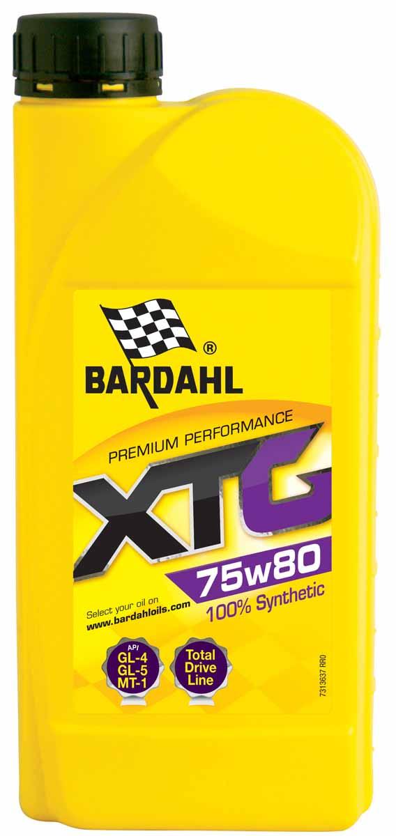Масло трансмиссионное Bardahl XTG, синтетическое, 75W80, 1 л36371Синтетическое масло для трансмиссии с тяжелым и обычным режимом эксплуатации. Разработано для смазки механических трансмиссий, дифференциалов и коробок передач работающих в условиях тяжелых нагрузок, высоких скоростей и температуры. Особенно подходит для высоконагруженных гипоидных передач. Обладает отличной термической стабильностью. Спецификации OEM MIL L-2105D, MACK GO-G, MAN 342N/342 Type M1, ZF TE-ML 05A/12A.