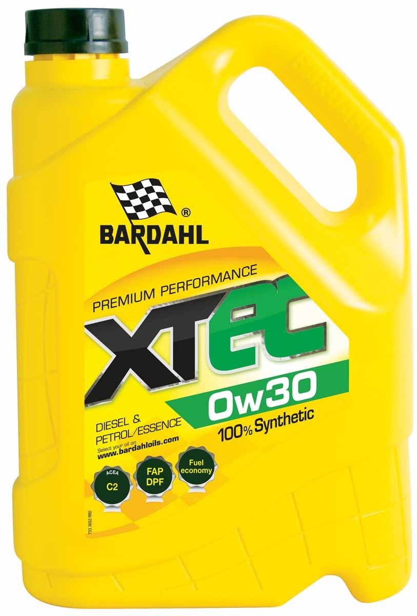 Масло моторное Bardahl XTEC, синтетическое, 0W-30, 5 л36523100% Синтетическое моторное масло для экономии топлива, Low SAPS специально разработано для автомобилей, оснащенных сажевым фильтром (DPF), соответствующих Евро IV и V нормам. Bardahl XTC С3 5W30 имеет высокое HTHS, гарантирующие отличную защиту. Особенно подходит для последнего поколения двигателей BMW, MERCEDES, PORSCHE, VW, Audi, Seat, Skoda дизельных и бензиновых, требующих смазки ACEA C3. ACEA C3 OEM VW 504.00/507.00, MB 229.51,BMW LL-04, Porsche C30