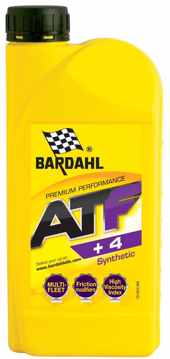 Масло трансмиссионное Bardahl ATF+4, синтетическое, 1 л36551Синтетическая жидкость для автоматических трансмиссий с содержанием модификатора трения. Рекомендуется для автоматических трансмиссий японских автомобилей, Chrysler, Jeep и многих других, требующих специальных фрикционных свойств.Свойства:Превосходная стабильность и текучесть при низкой температуре.Идеально подходит для холодного запуска. Спецификации ATF DEXRON IID/IIE/IIIG/IIIH Спецификации OEM ATF+3, ATF+4, Daimler Chrysler MS-9602 JEEP ATF+3 ATF+4, BMW 7045E/8072B, MERCEDES MB 236.1/6/7/8/9/10, TASA, VW G-0055-025, Ford MERCON M2C-138CJ/166H/922A1/924A, NISSAN MATIC FLUID C/D//J/K, HONDA ATF-Z1(except CVT), MAZDA ATF M-V, HYUNDAI/KIA SP-II/SP-III, SUZUKI ATF 3314, SUBARU ATF/ATF 5AT/ ATF HP/DEXRON II, AISIN WARNER JWS 3309/3324, TOYOTA ATF T-III/T-IV/D-II/WS, ISUZU BESCO ATF II/III, ALLISON C4/TES-228, JASO M 315-2013 Type 1A, VOLVO 1161540, ZF TE-ML 09/11A/11B