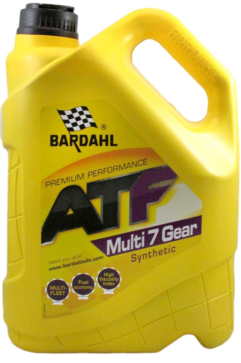 Масло трансмиссионное Bardahl Multi ATF 7, синтетическое, 5 л36583Синтетическая жидкость Bardahl ATF Multi 7 Gear рекомендуется для автоматических коробок передач японских автомобилей, Chrysler, Jeep, и многих других транспортных средств (см. спецификации), требующих особых характеристик. ATF Multi 7 Gear Bardahl имеет отличную стабильность и текучесть при низких температурах. Идеально подходит для холодных запусков. Спецификации ATF DEXRON II/ IID/ IIE/ IIIG/ IIIH. Спецификации OEM CHRYSLER ATF +3, Allison C4, MB 236.10/ 236.11/ 236.12/ 236.14 / 236.3/ 236.5 / 236.6/ 236.7 / 236.8 / 236.9 / 236.91, MITSUBISHI SP-II/ SP-III/ ATF J-2, AUDI/VW G-055-025/G-052-162/G-052-990/G-052-533, Ford SS-M2C922-A1, NISSAN MATIC D/ J/ K/ S/ W, HONDA ACURA Z1, MAZDA M-III/ Type T-IV, HYUNDAI/KIA SP-II/ SP-III/ SP-IV, SUZUKI ATF 3309, SUBARU ATF/ ATF HP, TOYOTA Type DII/ T/ T-III/ T-IV, ISUZU ATF II/ III, JAGUAR JLM 20238/ 20292/ 21044, JASO M315 Type 1A, JWS 3309, VOLVO 1161540, ZF TE 11A/11B
