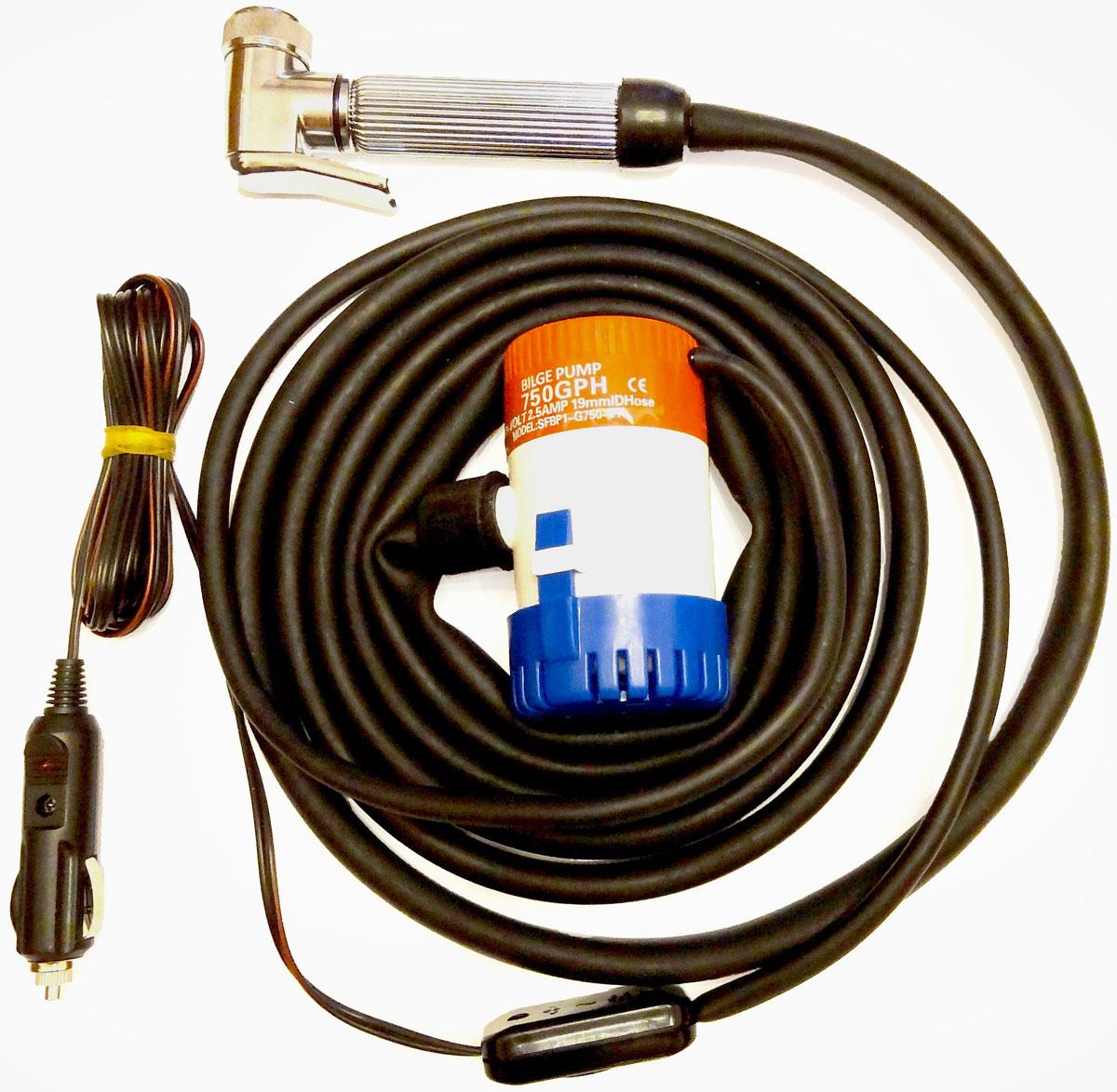Минимойка Балио Лонгер-душ-компакт, без емкости. М200М200Минимойку Балио Лонгер-душ-компакт можно использовать как для мойки автомобилей, так и в качестве душа на даче, на пикнике или в пути, а также для поливки растений и мытья фруктов и овощей.Особенности:- В минимойке Лонгер-Компакт применяется специальный американский мотор-насос с длительным сроком службы, позволяющим при минимальном расходе тока и малых габаритах прокачивать значительный объём воды: 5 л/мин (а со снятой душевой насадкой и шлангом - до 32 л/мин); - Рабочие валы изготовлены из нержавеющей стали;- На насосе имеется сетка, предотвращающая попадание грязи внутрь насоса;- Шланг минимойки изготовлен из специального каучука и остается мягким и эластичным даже при отрицательной температуре воздуха;- Минимойка укомплектована удобным душем с хромовым покрытием и с плавной регулировкой расхода воды;- Для мойки автомобиля может использоваться вода температурой не выше 45°С, в которую можно добавить любую моющую жидкость;- Специально подобранный электропровод, благодаря резиновым уплотнениям автомобиля, спокойно проходит между дверью и кузовом;- В устройстве применяется штекер с предохранителем, защищающим электропроводку автомобиля при коротком замыкании.Технические характеристики:- режим работы - продолжительный,- питание – постоянный ток,- напряжение - 12 В,- потребляемый ток – 1,9 А,- плавкий предохранитель на 2,5 А,- температура воды – до 45°С,- длина каучукового шланга – 4 м,- длина провода электропитания – 4 м,- срок службы – 5-7 лет.Как выбрать мойку высокого давления. Статья OZON Гид