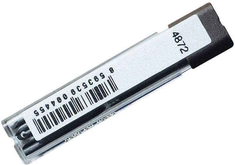 Koh-I-Noor Грифель для циркуля 1,9 мм 10 шт4872002001PKНабор грифелей для циркуля Koh-i-Noor. В комплекте 10 грифелей. Длина грифеля 1,9 мм.