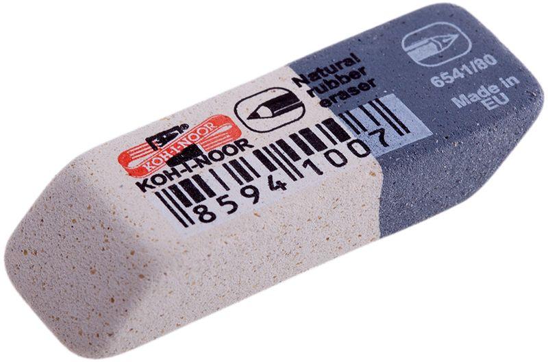 Koh-I-Noor Ластик Sanpearl 806541080004KDRUКомбинированный универсальный ластик Koh-I-Noor подходит для удаления чернографитных карандашей и чернил. Не повреждает бумагу, обеспечивает чистое и аккуратное стирание.Изготовлен из каучука.