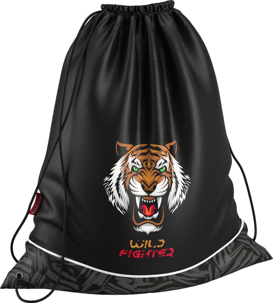 Erich Krause Сумка для сменной обуви Wild Tiger brauberg сумка для детской обуви космолет