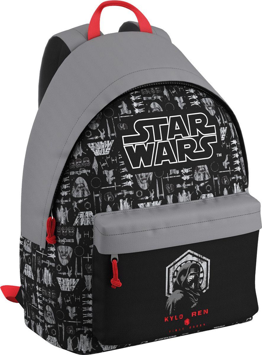 Star Wars Рюкзак Звездные Войны Решающая битва EasyGo42471Легкий и компактный городской рюкзак. Спина дополнительна уплотнена. Одно основное отделение и большой фронтальный карман. В основном отделении предусмотрен органайзер. Вмещает формат А4. Вес рюкзака без наполнения 350 г. Размеры: 40 х 39 х 18 см.