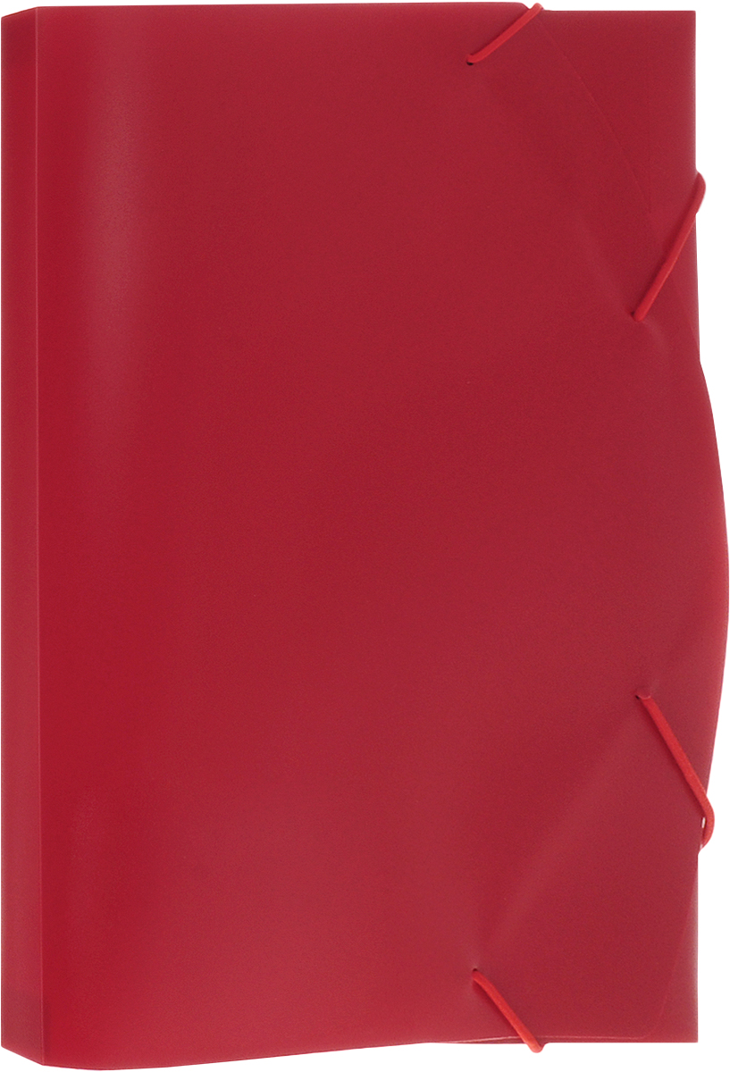 Albion Папка на резинке Basic цвет красныйAL10931Папка Albion Basic изготовлена из пластика высокого качества. Предназначена для транспортировки и хранения документов формата А4.Состоит из одного вместительного отделения. Закрывается папка при помощи резинки.Папка - это незаменимый атрибут для любого студента, школьника или офисного работника. Такая папка надежно сохранит ваши бумаги и сбережет их от повреждений, пыли и влаги.