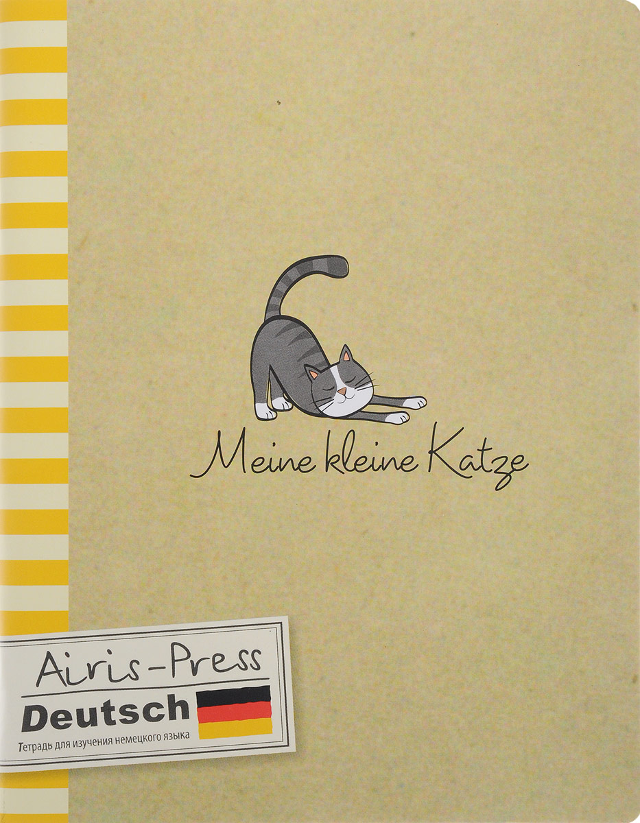 Немецкий язык. Тетрадь предметная. Meine Rleine Katze ISBN: 978-5-8112-5797-3