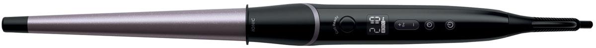 Philips Glam Shine BHB872/00, Black Silver щипцы для завивки волосBHB872/00Щипцы для завивки Philips Glam Shine BHB872/00 с системой ионизации и титановым корпусом для создания великолепных сияющих локонов и волн. Уникальный индикатор завершения завивки локона позволяет получать симметричные локоны и защищает волосы от перегрева.Отрицательно заряженные ионы позволяют снять статическое электричество и улучшить общее состояние волос, а также способствуют закрытию волосяных чешуек, что придает волосам дополнительный блеск. В результате ваши волосы гладкие, сияющие и шелковистые.Титановое покрытие, которое используется для профессиональной укладки, отличается прочностью и обеспечивает высокую теплопроводность. Для великолепных результатов корпус покрыт титаном.Уникальный индикатор завершения завивки локона сигнализирует о готовности локона с помощью звукового сигнала. Эта инновационная функция позволяет создавать великолепные локоны и волны без перегрева волос. Если при укладке потребуется использовать другие настройки времени, функцию можно отключить.Высокая температура укладки позволяет создать любую прическу и придать локонам великолепный вид.Длина корпуса щипцов составляет 160 мм - идеально для завивки длинных и густых волос.Подставка обеспечивает безопасность при использовании щипцов для завивки.Удобный шарнир позволяет шнуру вращаться, предотвращая его спутывание.Цифровой дисплей с 9 настройками температуры позволяет контролировать и настраивать температуру для вашего типа волос, защищая их от повреждения.
