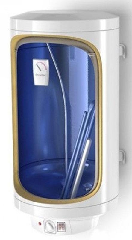 TESY GCV 50 35 16D D06 TS2RC Slim Anticalc накопительный водонагревательGCV 50 35 16D D06 TS2RCЭлектрический накопительный водонагреватель TESY GCV 50 35 16D D06 TS2RC Slim Anticalc подготовит большое количество горячей воды и будет поддерживать заданную температуру автоматически. Он идеально подходит для снабжения горячей водой загородных домов, коттеджей, бань и прочих индивидуальных бытовых помещений.Водонагреватель имеет равномерный нагрев воды. Высокий уровень энергоэффективности достигается с помощью слоя высококачественной теплоизоляции.Защита от накипиБолее длинная жизнь эксплуатацииБесшумная работаПодходящий за использование в районах с мягкой и твердой водойВодонепроницаемый электрический выключатель с двухстепенной мощностью для выбора нормального и быстрого нагреванияТермостат с тепловой и электрической защитойНержавеющий электрический нагревательный элементПростое обслуживание – без необходимостив осушении, при замене нагревательного элементаВремя нагрева с 15°C до 60°C: 3 ч 5 мин