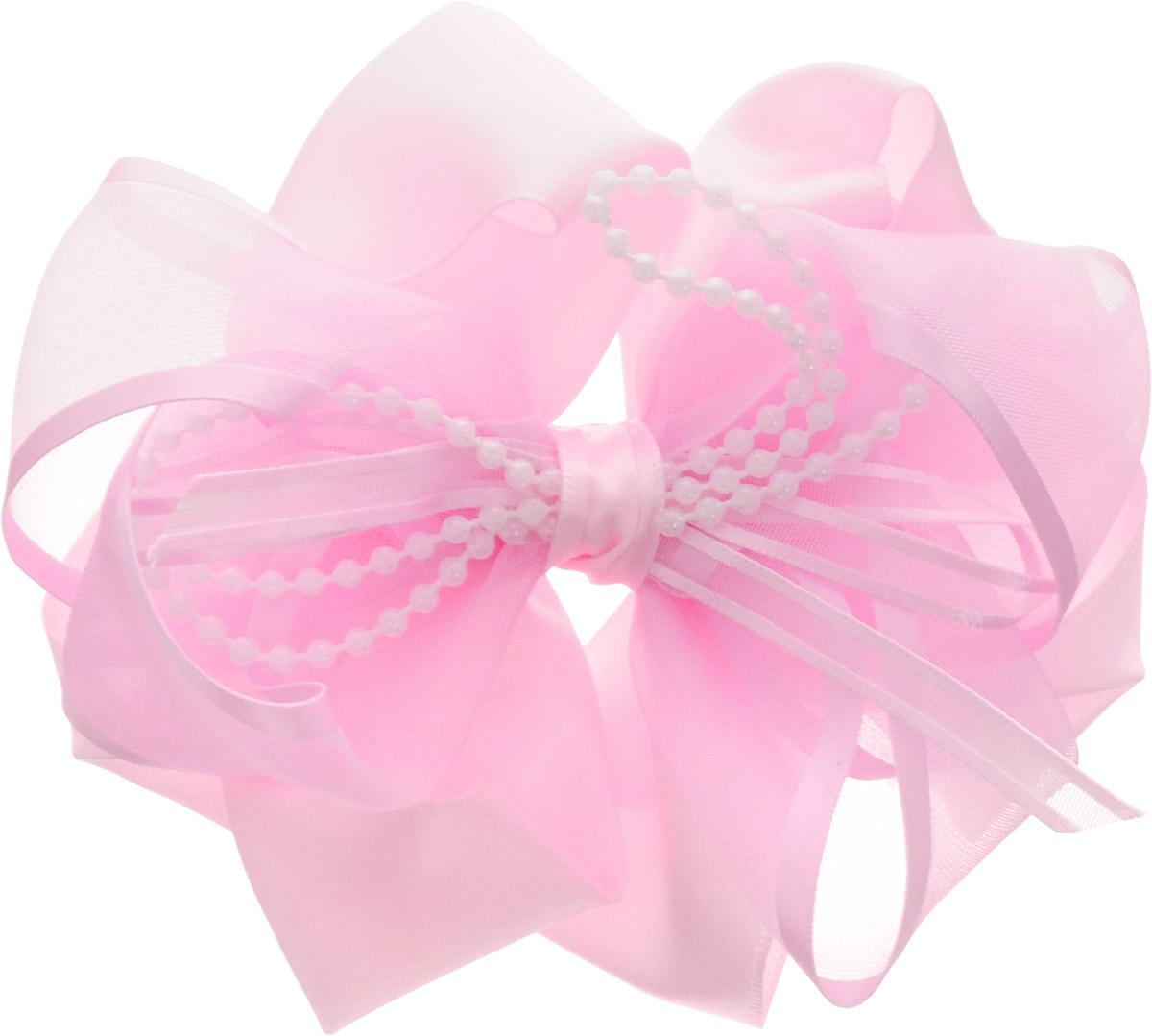 Babys Joy Бант для волос цвет розовый с бусинами MN 203MN 203_розовый с бусинкамиБант для волос на резинке Babys Joy позволит не только убрать непослушные волосы с лица, но и придать образу романтичности и очарования. Такая резинка для волос подчеркнет уникальность вашей маленькой модницы и станет прекрасным дополнением к ее неповторимому стилю.
