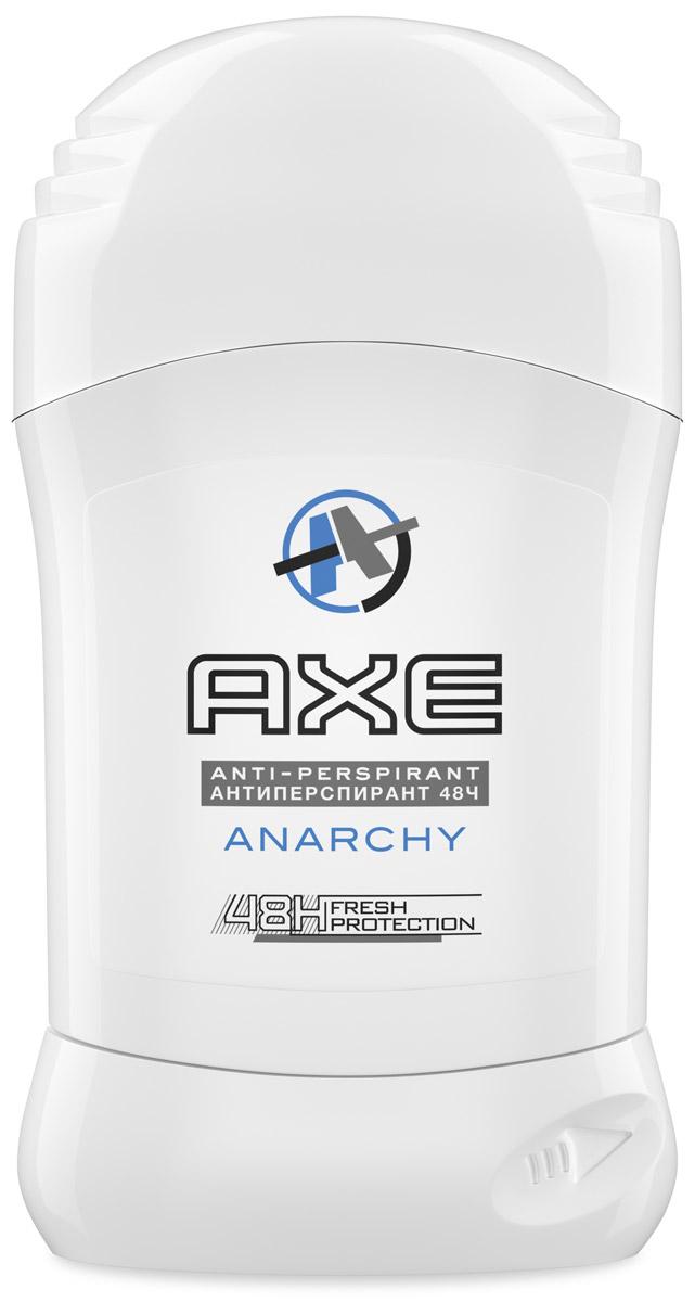Axe Dry Антиперспирант карандаш Anarchy men 50 мл050701537_белыйВселенная AXE приветлива к гостям, смельчакам, которые решаются ступить на ее земли, но не всегда поддается упорному давлению. Для новых членов клуба AXE и тех, кто отправился в продолжительный отпуск за границы нашей звездной системы и ненароком заблудился, - путеводитель АХЕ. AXE – это: - многообразие ароматов , которые нравятся именно вам. Аэрозольные мужские дезодоранты - для тех , кто ценит легкость и привык брать с собой в путешествие, на веселые вечеринки букет из удивительным ароматов , то есть настоящих романтиков , гелевые мужские антиперспиранты - для отчаянных сорвиголов , спортсменов , которые не признают компромиссов.