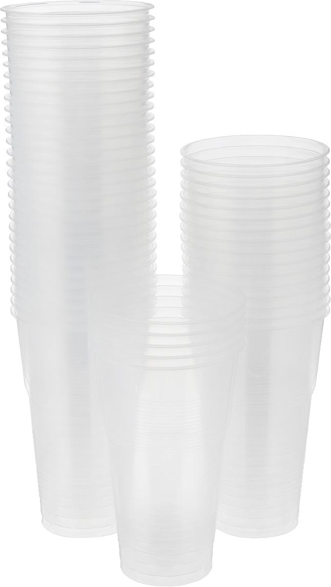 Набор одноразовых стаканов Мистерия, 500 мл, 50 шт набор одноразовых ножей мистерия компакт 100 шт