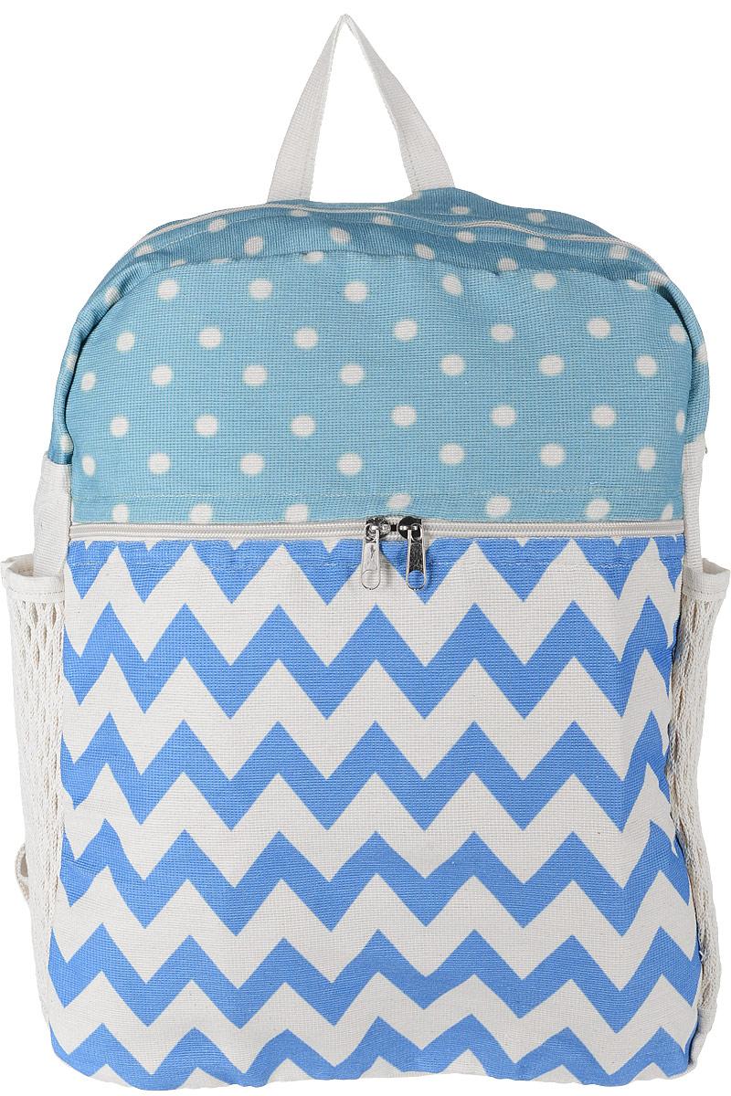 Рюкзак женский Almed MixPrint, цвет: светло-бежевый