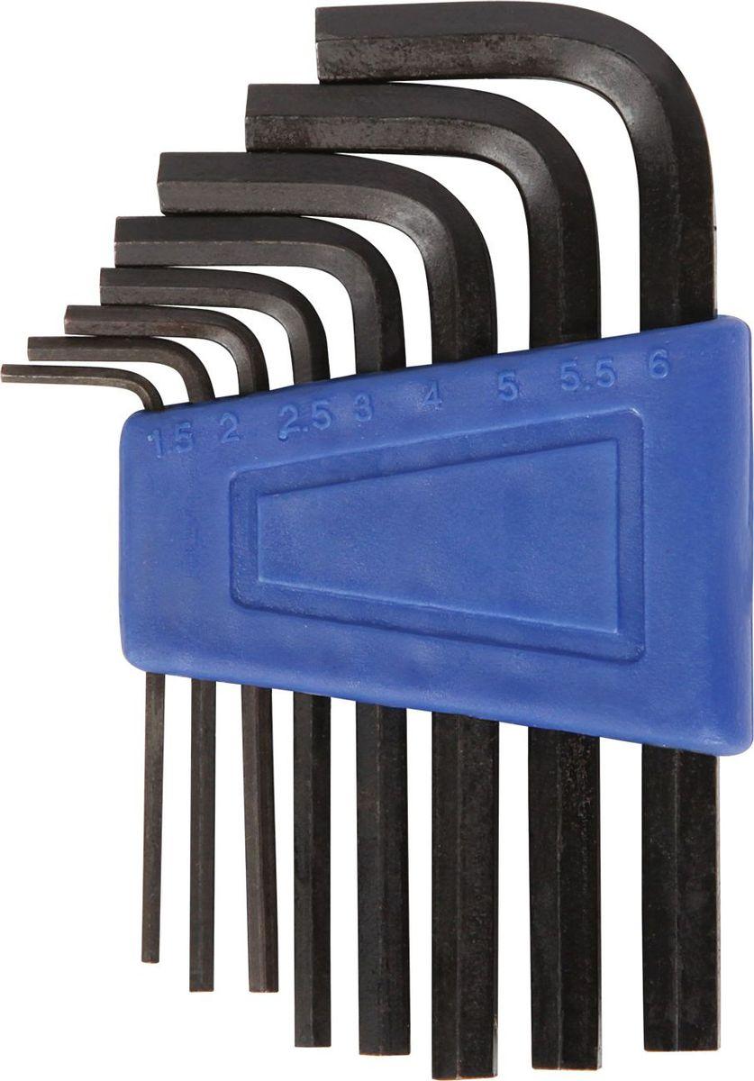 Набор шестигранных ключей STG YC-623, 8 штХ38943-1Набор STG YC-623, выполненный из стали, состоит из 8 шестигранных ключей (1,5 мм, 2 мм, 2,5 мм, 3 мм, 4 мм, 5 мм, 5,5 мм, 6 мм). Такой компактный набор включает в себя все самые необходимые элементы и нужен любому велосипедисту. Он поместится даже в самой маленькой сумке на раму.