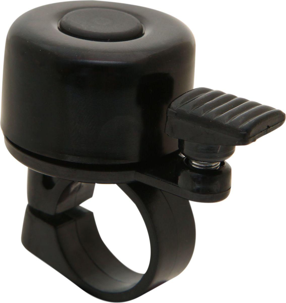 Звонок велосипедный STG 11A-05, цвет: черный звонки велосипедные stg звонок