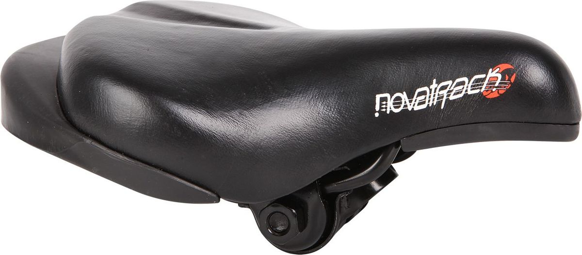 Седло STG WХ-12888 Novatrack, для 12 и 14, цвет: черныйХ6615Сиденье Novatrack для детского велосипеда с колесом 12 или 14.