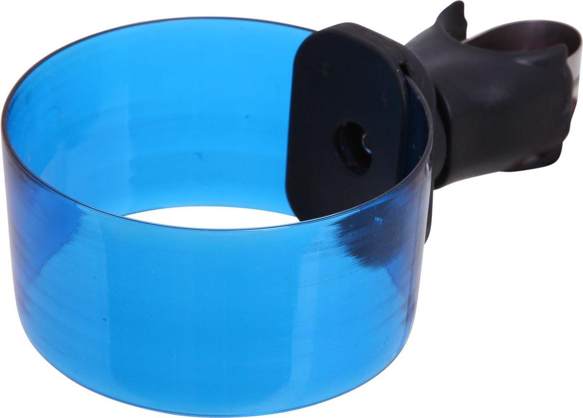 Флягодержатель SunnyWheel SW-CH-113, крепление на руль, цвет: синийХ69818Флягодержатель SunnyWheel SW-CH-113, выполненный из прочного пластика, способен удерживать не только велофлягу, но и обычные пластиковые бутылки. Флягодержатель имеет крепление на руль. Это незаменимая вещь для спортсменов и любителей длительных велосипедных прогулок. Благодаря держателю, фляга с водой будет у вас всегда под рукой.Крепление входит в комплект.