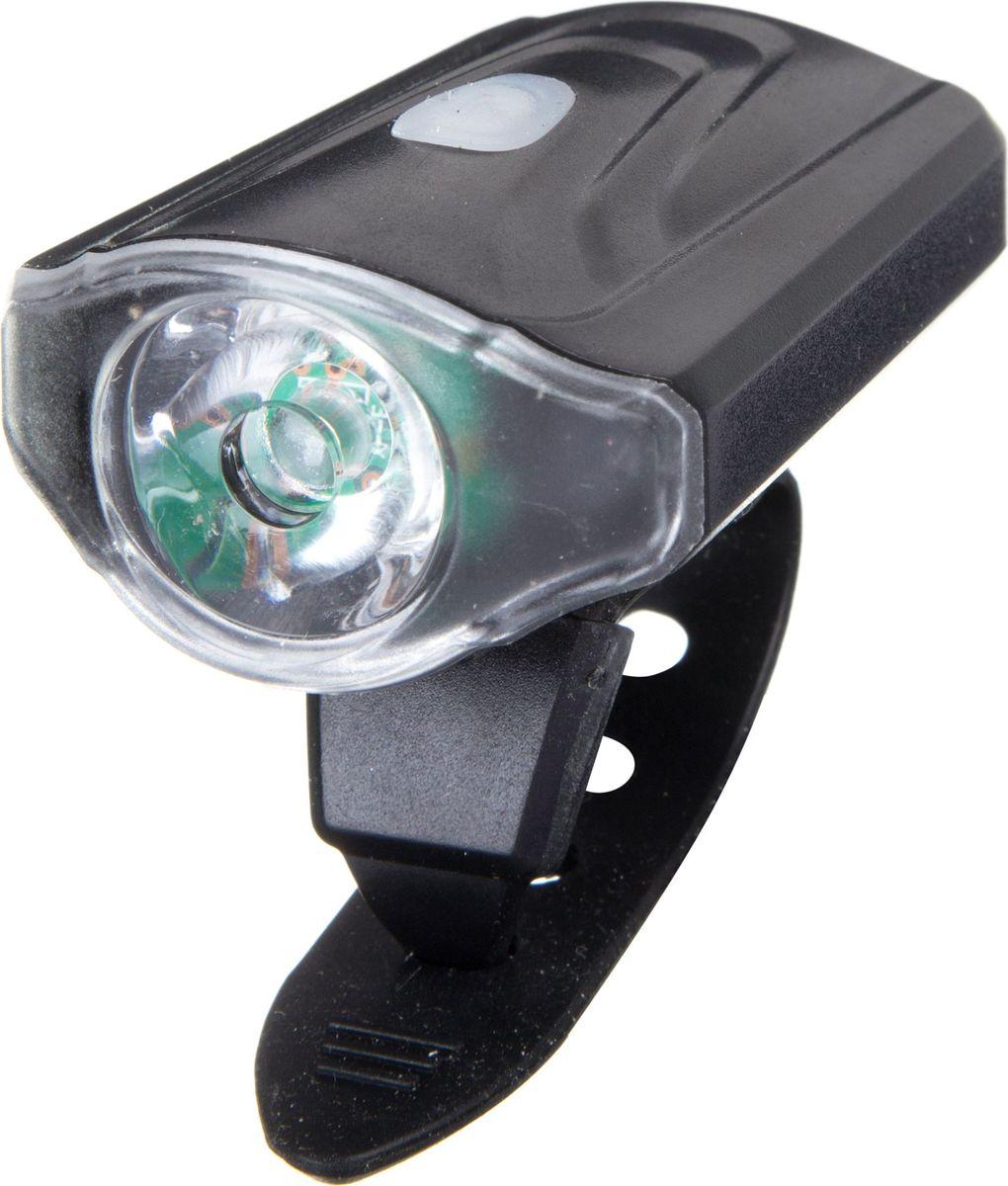 Фонарь велосипедный STG JY7043, передний, с зарядкой от USBХ81482Передний велофонарь STG JY7043 предназначен для обеспечения большей безопасности при поездках в темное время суток. Он легко крепится и снимается без дополнительных инструментов. Корпус изделия выполнен из прочного алюминия, пластика и резины. Фонарь имеет 3 режима: 100% свечение (5 часа), 50% свечение (10часа), мерцание (15 часа).Фонарь питается от литиевой батарейки (3,7V/550mAh), заряжающегося от компьютера при помощи USB кабеля.