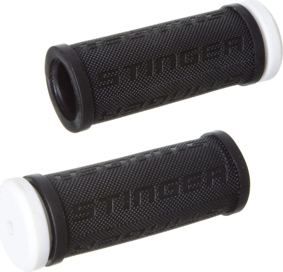 Грипсы STG HL-G92-1 BK, длина 7,6 смХ82241Грипсы STG HL-G92-1 BK, выполненные из высококачественной резины и пластика, препятствуют соскальзыванию рук, гасят вибрацию, не натирают ладони и в целом делают поездку более комфортной. Они одеваются на концы руля и их можно менять по мере изношенности.Длина грипсы: 7,6 см.