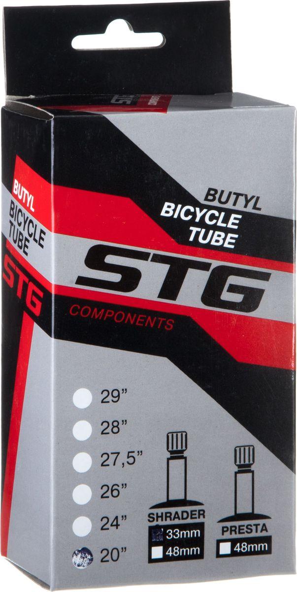 Камера велосипедная STG, с автониппелем, диаметр колеса 20, ширина колеса 1,75-1,95Х82411Камера STG изготовлена из долговечного бутила и стали. Никаких швов, которые могут пропускать воздух. Достаточно большая для защиты от проколов и достаточно небольшая для снижения веса.Велосипедные камеры - обязательный атрибут каждого велосипедиста! Никогда не выезжайте из дома на велосипеде, не взяв с собой запасную велосипедную шину!Диаметр колеса: 20.Ширина колеса: 1,75-1,95.Длина автониппеля: 33 мм.