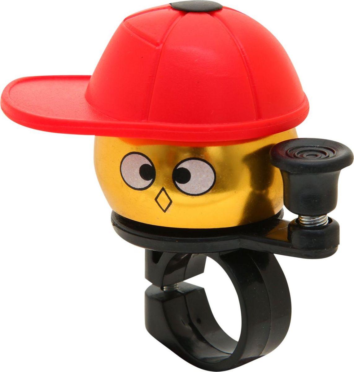 Звонок велосипедный STG Мальчик в кепке, детский звонки велосипедные stg звонок