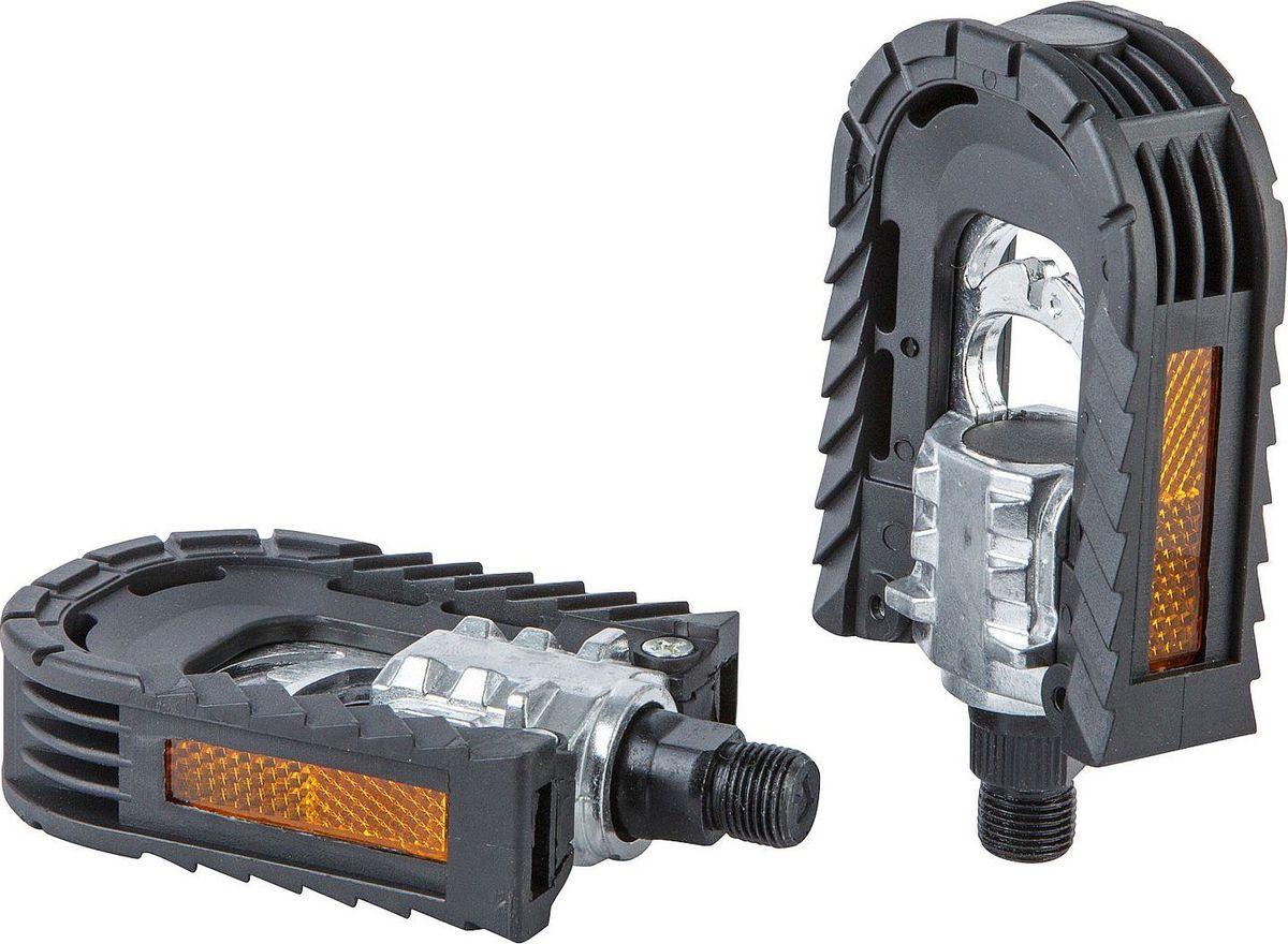 Педали STG НР-99X, складные, 2 штХ82744Высокопрочные складные педали STG НР-99X, выполненные из прочного пластика и стали, оснащены встроенными светоотражателями для безопасности. Прочная ось 9/16.