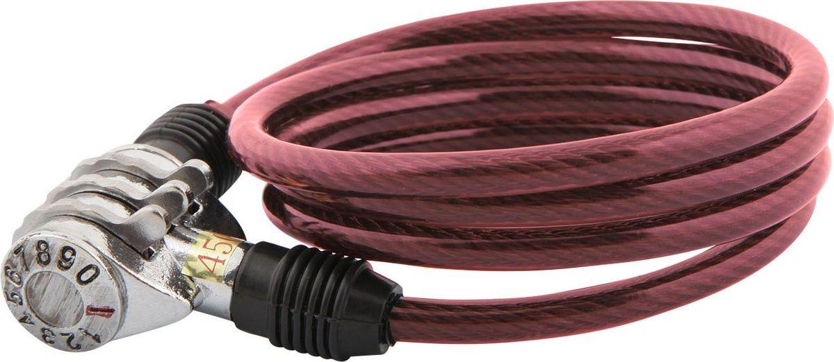 Замок велосипедный STG, трос спиральный, кодовый, цвет: красный, 6 мм х 100 смХ82788Кодовый велозамок STG со спиральным тросом поможет обезопасить велосипед от угона. Выполнен из стали, пластика и резины.Будучи легким, гибким и надежным, он станет замечательным решением для обеспечения безопасности велосипеда. Диаметр троса: 6 мм.Длина: 100 см.Гид по велоаксессуарам. Статья OZON Гид