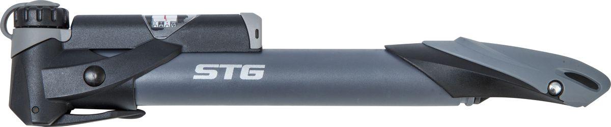 Насос велосипедный STG GP-961, ручной насос велосипедный stg gp 49 ручной
