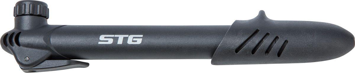 Насос велосипедный STG GP-46L, ручной насос велосипедный stg gp 07 ручной