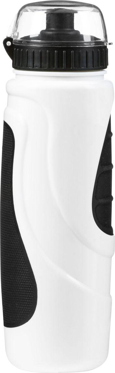 Фляга велосипедная STG DC-BT-55, с крышкой, цвет: черный, белый, 700 мл. Х83103Х83103Велофляга STG - это незаменимая вещь в походах и на велопрогулках на большие расстояния, подойдет для всех велосипедистов, любителей или профессионалов. Фляга выполнена из ударопрочного пластика стойкого к высоким температурам. Эргономичная форма велобутылки позволяет легко достать и быстро поместить ее во флягодержатель. Оптимальный объем фляги (700 мл) обеспечивает необходимое количество жидкости для подпитки велоспортсмена. Велофляга имеет удобный клапан с блокировкой, который препятствует проникновению воды. Широкое горлышко позволяет перелить воду из небольших емкостей без использования воронки.