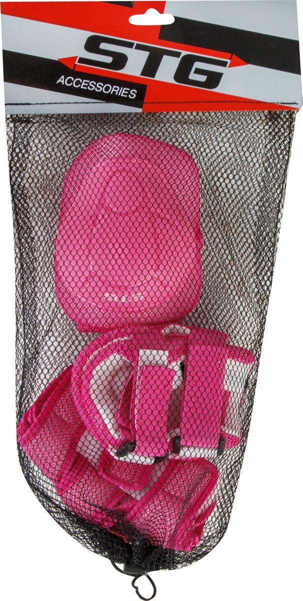 """Комплект детской защиты STG """"YX-0304"""" - это необходимые аксессуары для детей, которые начинают осваивать азы самостоятельного катания. В комплект детской защиты входят наколенники, налокотники и защита кистей. Данный набор, выполненный из высококачественных материалов, подойдет как для катания на велосипеде, так и на самокате, роликовых коньках или скейтборде."""