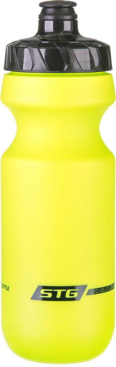 Фляга велосипедная STG CSB-542M, цвет: зеленый, 600 мл фляга stels csb 505wa 600мл