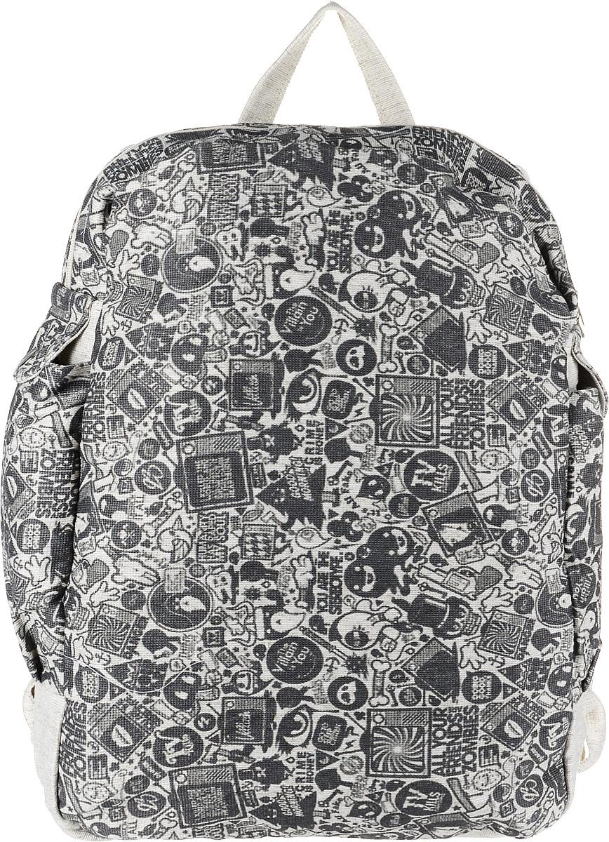 Рюкзак женский Almed Zombie, цвет: светло-бежевый