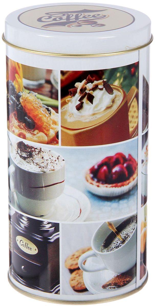 Банка для сыпучих продуктов Рязанская фабрика жестяной упаковки Кофе, 900 мл1669556Металлическая банка Кофе - лучший способ сохранить крупы и травы, чай и кофе в наилучшем состоянии.Изделия от Рязанской фабрики жестяной упаковки радуют потребителей уже долгие годы. Чем хороша именно эта банка?- Плотная крышка предохраняет содержимое от высыпания.- Защита от солнечного света продлевает срок годности продуктов.- Яркий дизайн добавит свежую нотку в оформление кухни.- Банка может быть использована для хранения мелких хозяйственных предметов.Наводите порядок на кухне со вкусом!