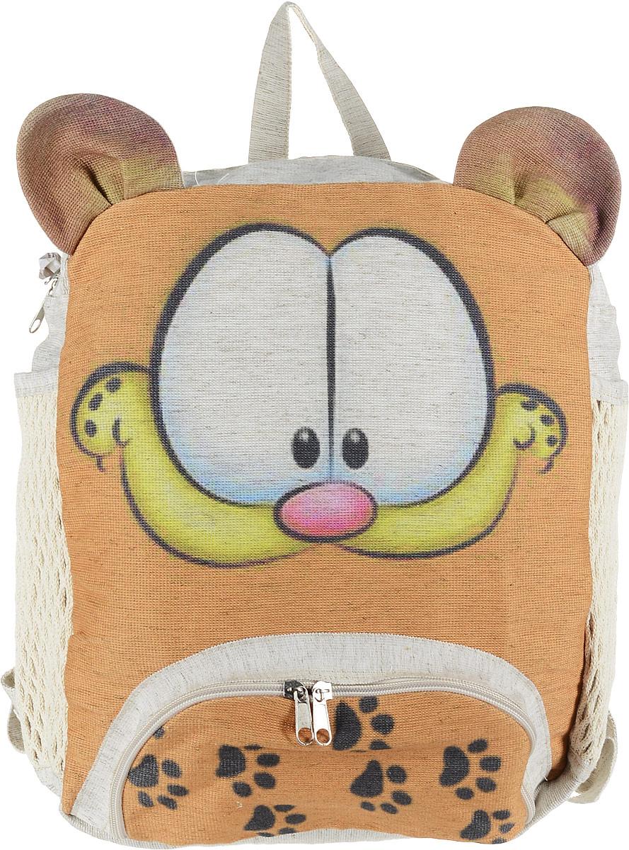 Рюкзак женский Almed Cat, цвет: светло-бежевыйCatЭКО-рюкзак производится из натуральных материалов - Лен. Экологичность используемого сырья, прочность и долговечность рюкзаков являются неоспоримыми преимуществами данной продукции. Нанесение рисунка происходит способом прямой печати. Изображение выдерживает более 60 стирок без существенной потери качества.