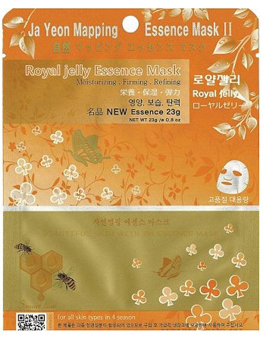 Jayeon Mapping Маска для лица с экстрактом пчелиного маточного молока Collagen Essence Mask Royaljelly Essence Mask, 23 гр