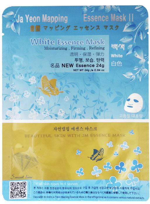 Jayeon Mapping Маска для лица, выравнивающая тон кожи White Essence Mask, 23 гр