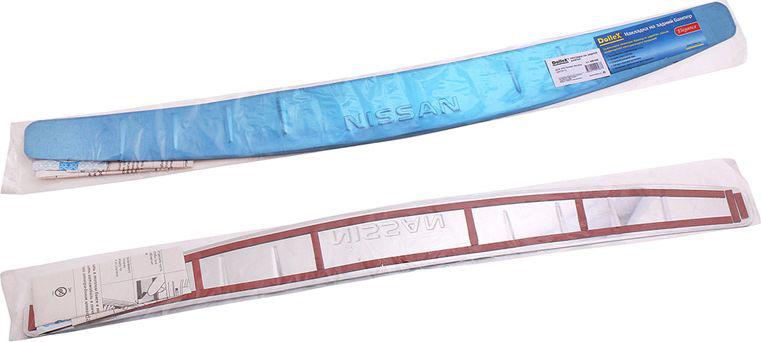 Купить Накладка бампера декоративная DolleX , для NISSAN Almera (2012-2014), штамп NISSAN