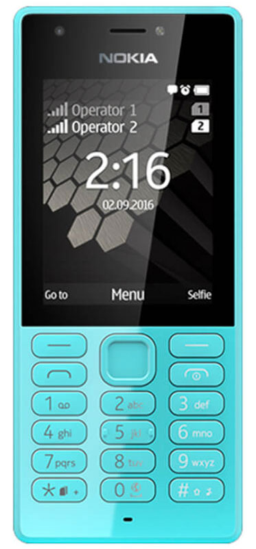 Nokia 216 DS, Blue
