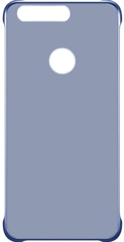 Huawei View Cover чехол для Honor 8, Blue51991681Защитный бампер Huawei View Cover специально разработан для смартфона Honor 8. Он идеально повторяет контуры устройства и обеспечивает надежную защиту при падениях. Материал чехла приятен на ощупь, не скользит в руках и не утяжеляет конструкцию. С защитным бампером смартфон сохранит свой внешний вид и будет защищен от сколов и царапин.