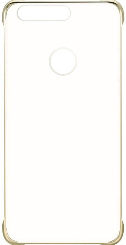 Huawei View Cover чехол для Honor 8, Gold51991680Защитный бампер Huawei View Cover специально разработан для смартфона Honor 8. Он идеально повторяет контуры устройства и обеспечивает надежную защиту при падениях. Материал чехла приятен на ощупь, не скользит в руках и не утяжеляет конструкцию. С защитным бампером смартфон сохранит свой внешний вид и будет защищен от сколов и царапин.